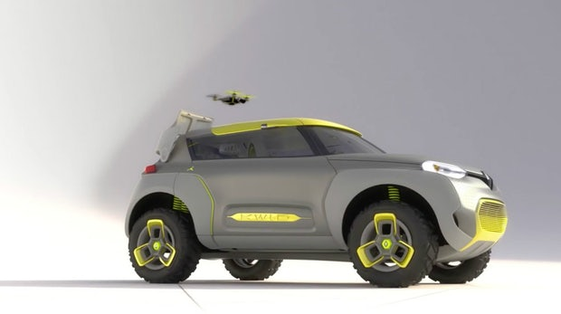 Fliegender Begleiter fürs Auto: Renault spendiert Concept-Car eine Drohne
