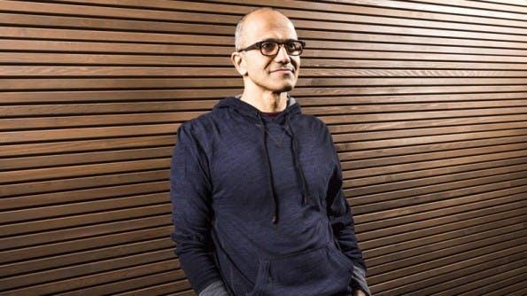 Muss durchgreifen: Microsoft-CEO Satya Nadella wird 18.000 Mitarbeiter entlassen. (Foto: Microsoft)