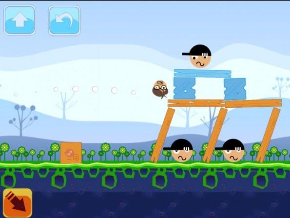 Angry-Birds-Klon für die SEO-Community: Im Browser-Game bekämpft ihr Blackhat-SEOs. (Bild: kettlewhistle.co)