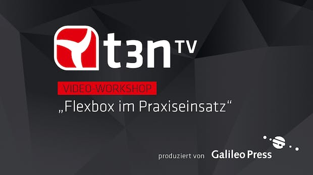 Layouts mit der CSS-Box-Modell-Alternative Flexbox einfacher umsetzen [t3n-Video-Workshop]