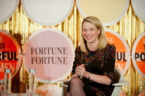 Yahoo's Frontfrau Marissa Mayer hat es vorgemacht: Die Tech-Branche verträgt Frauen und braucht sie auch. (Foto © by Don Feria/Getty Images for Fortune)
