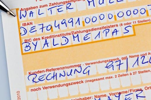 SEPA-Umstellung: QR-Codes statt IBAN