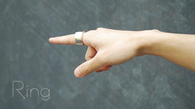 High-Tech am Finger: Bluetooth-Ring erlaubt Gestensteuerung für alle Geräte
