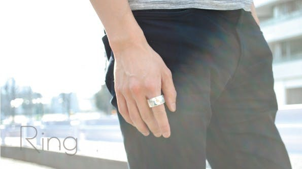 Ring bringt Gestensteuerung überall hin. (Foto: logbar Inc.)