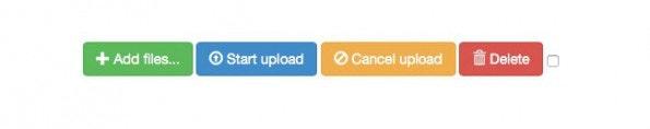 File-Uploads leicht gemacht mit dem jQuery-File-Uploader. (Screenshot: jQuery-File-Uploader)