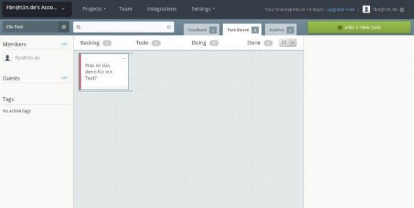 Issue-Tracking-Tool mit Aufgabenverwaltun: Bugherd. (Screenshot: Bugherd)