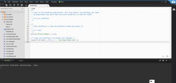 Cloud9-Interface. (Screenshot: t3n)