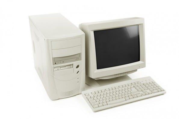 desktop computer old