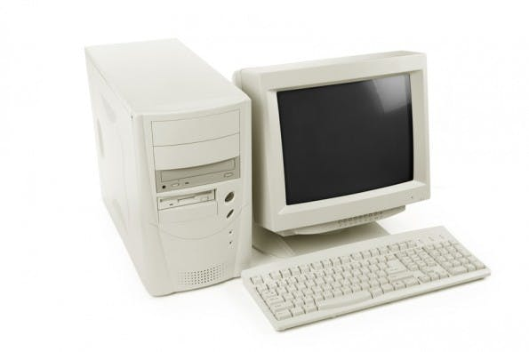 desktop computer old