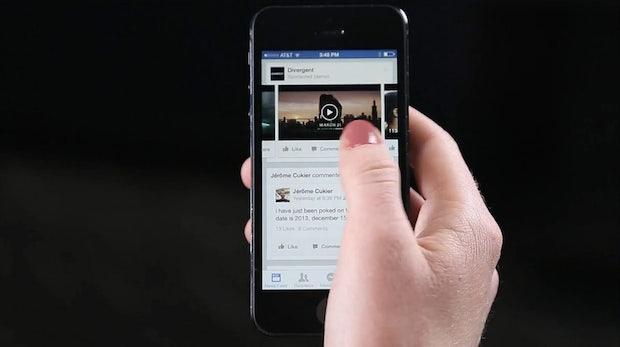 Werbe-Clips in deinem Newsfeed: Facebook beglückt die Werbeindustrie
