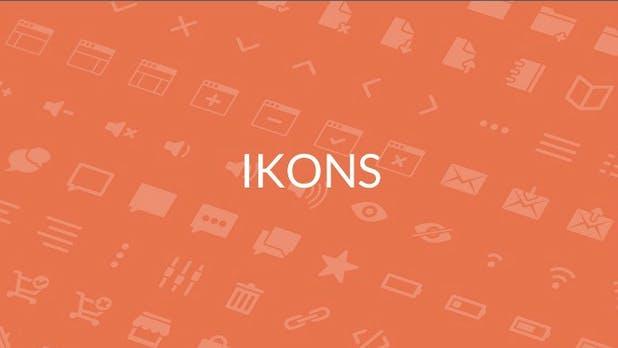 Ikons: 300 Vektor-Icons für dein nächstes Projekt