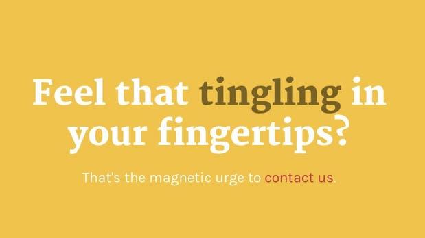10 inspirierende Beispiele für tolle Kontaktseiten