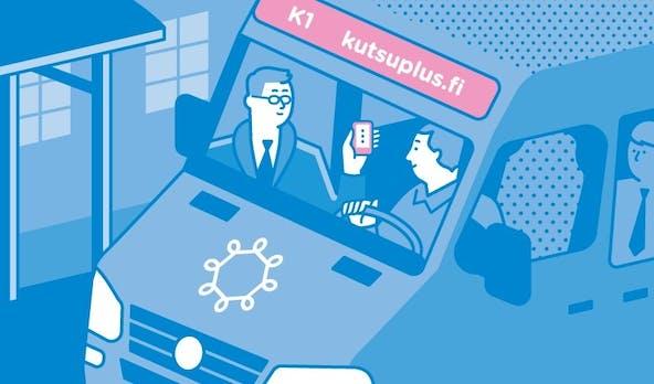 Der intelligente Nahverkehr kommt: Helsinkis Kutsuplus-Projekt experimentiert mit flexiblen Busrouten