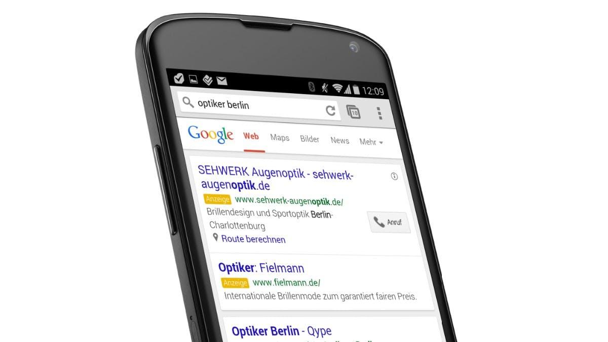 Local SEO: Google verdrängt organische Suchergebnisse durch Werbung