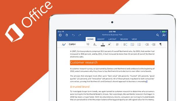 Microsoft veröffentlicht kostenloses Office für iPad und iPhone: Word, Excel und Powerpoint [Update]