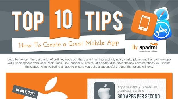 10 Tipps, um wirklich tolle Apps zu entwickeln