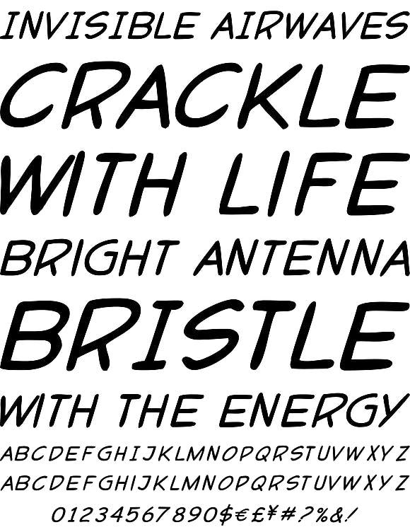 Popart Font