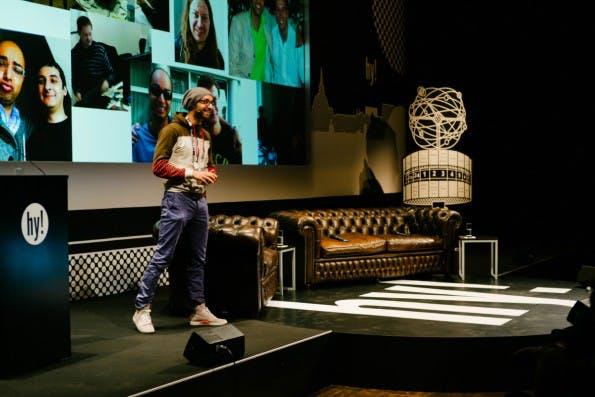 Ijad Madisch ist Gründer und CEO von Researchgate und mit seinem Startup praktisch ein Wegbereiter der Berliner Startup-Szene. (Foto: © Christoph Heinrich)
