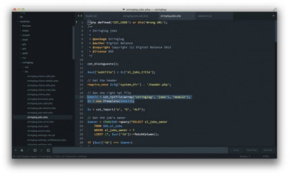 Sublime Text 3: Will Bond soll das Editor-Team verstärken. (Screenshot: t3n.de)