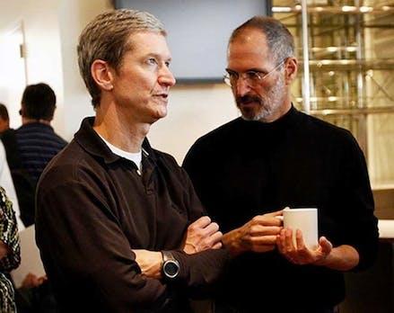 """""""Die größte Führungskraft"""": Was Apple-CEO Tim Cook von Steve Jobs unterscheidet"""