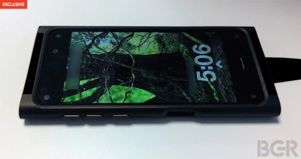 Frontansicht des möglichen Amazon Smartphones. (Bild: BGR.com)