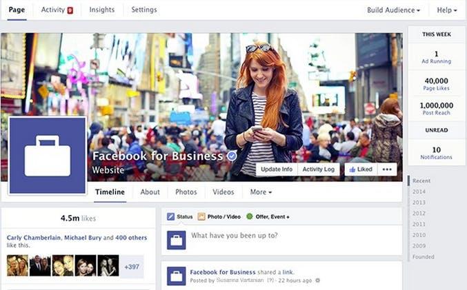 Neue Facebook-Pages: Übersicht aller Maße und Bereiche [Infografik]