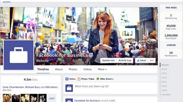 Neue Facebook-Pages: Übersicht aller Maße und Bereiche