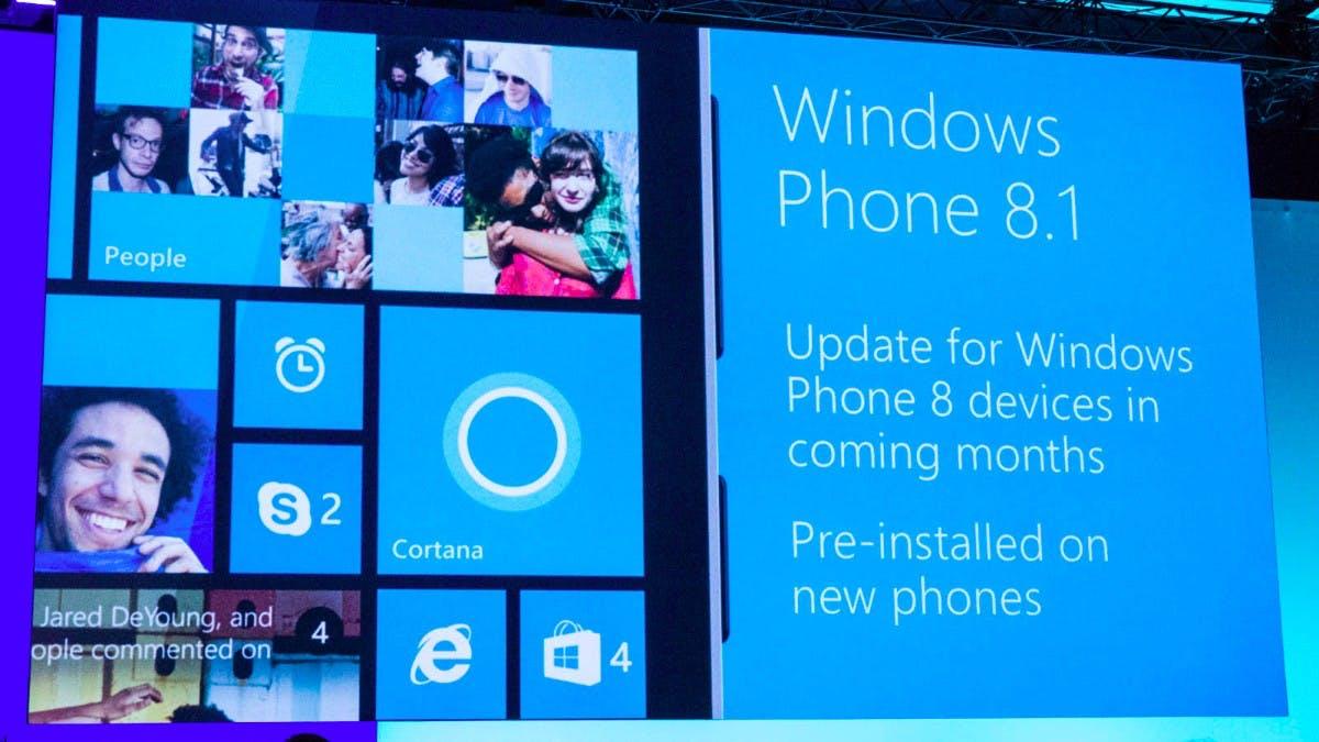 Windows Phone 8.1: Sprach-Assistent Cortana, neues Notification Center und neuer Look