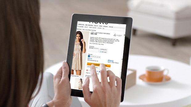 onlineshops klarna erfindet den checkout neu t3n. Black Bedroom Furniture Sets. Home Design Ideas