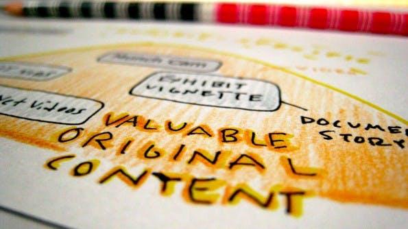 Content is king! Aber auch die Vermarktung der Inhalte ist wichtig. (Foto: 10ch / Flickr Lizenz: CC BY 2.0)