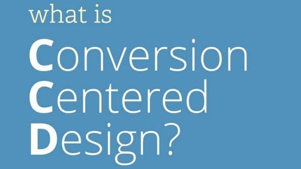 Conversion-zentriertes Design: So erhöht ihr eure Conversion-Rate. (Screenshot: Slideshare)