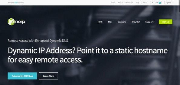 Der DynDNS-Dienst No-IP. (Screenshot: No-IP)