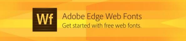 Edge Webfonts