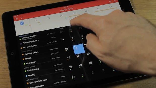 Geniale Kalender-App: Fantastical 2 jetzt auch fürs iPad