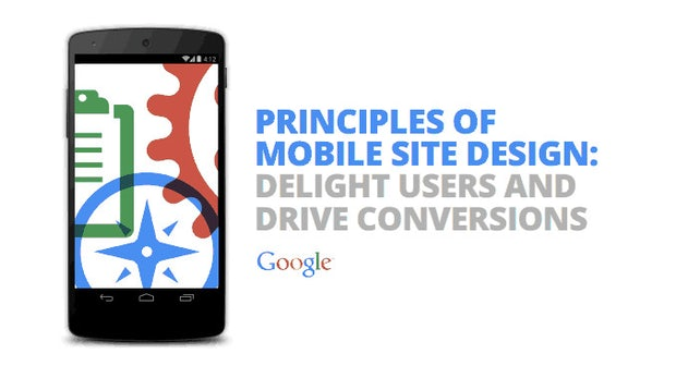 Webdesign: Googles 25 Regeln für bessere mobile Websites