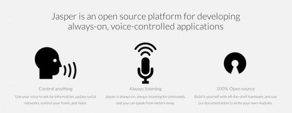 Open Source: Euer Raspberry Pi hört dank Jasper auf jedes Wort. (Screenshot: jasperproject.github.io)