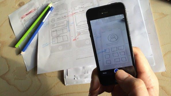 Marvel: Kostenlose Prototyping-App für iOS 7. (Bild: Marvel)
