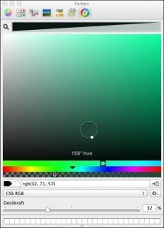 Super präzise: Skala Color. (Screenshot: Skala Color)