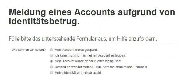 Bei den meisten Social-Media-Diensten gibt es Unterstützung, wenn euer Account gehackt wurde. (Screenshot: Twitter)