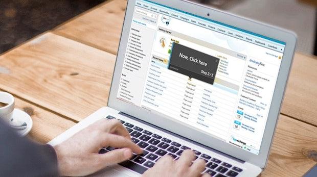 WalkMe führt den Nutzer durch jede Web-App