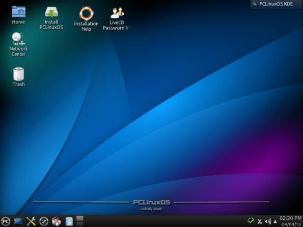 Das ist PCLinuxOS. (Bild: PCLinuxOS)
