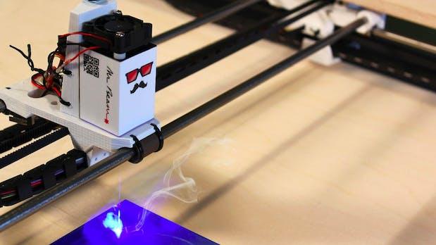 Open Source: Portabler Lasercutter Mr Beam landet auf Kickstarter
