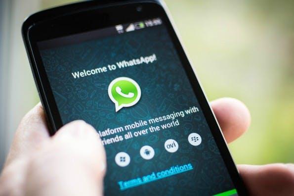 Web-Version: WhatsApp könnte bald auch auf dem Desktop nutzbar sein. (Foto: WhatsApp)