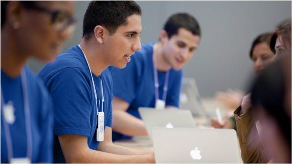 Ex-Mitarbeiterin lässt sich über die Arbeitsbedingungen in den Apple-Stores aus. (Foto: Apple)
