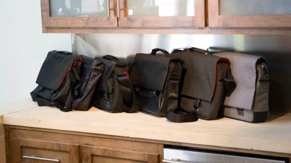 Messenger-Bags sind nur ein kleiner Teil des booq-Produktportfolios. (Foto: Moritz Stückler)
