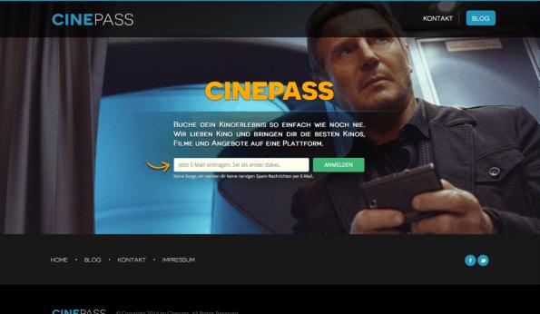 Nie wieder Schlange stehen im Kino? Cinepass glaubt daran. (Screenshot: t3n)