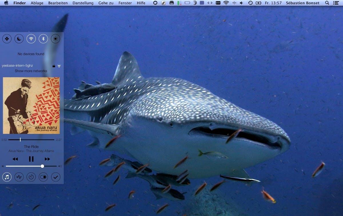 Control Center für Mac: Wie konnte OS X bisher ohne das Tool auskommen?