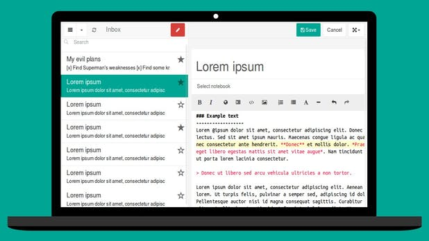 Einfache Evernote-Alternative: Laverna bringt Notizdienst zum Selberhosten