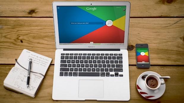 Das Auge googelt mit – So schön könnte Googles Suchmaschine sein
