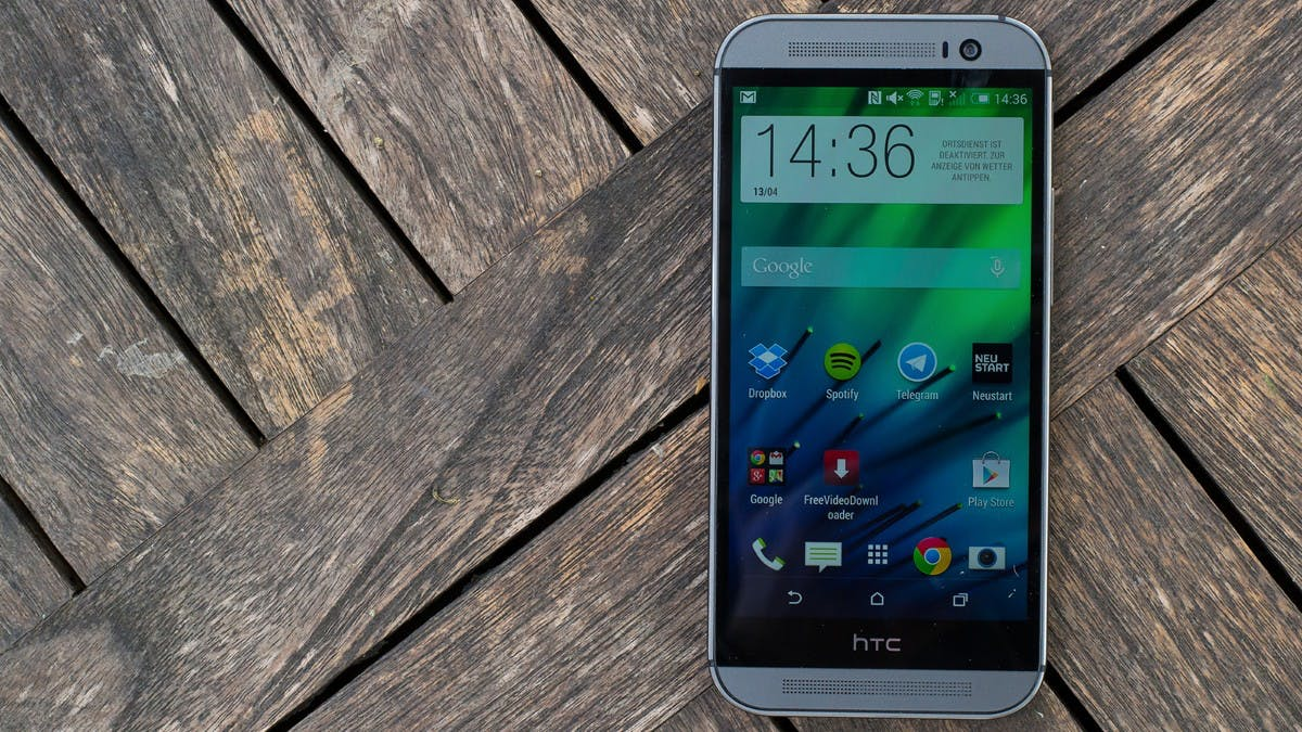 HTC One M8: Die Speed-Rakete mit Alu-Gehäuse im t3n-Test